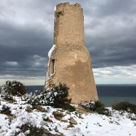 Torre del gerro denia nevada